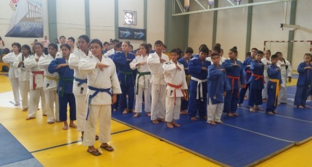 Con éxito se celebró  la Copa Aguila de judo