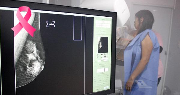 Se han detectado 333 casos de cáncer de mama