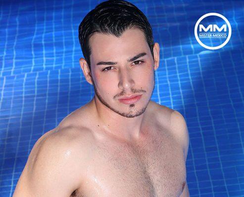 Suerte a Javier López en el Mister México 2017