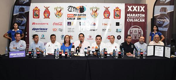 Anuncian el XXIX Maratón Internacional de Culiacán