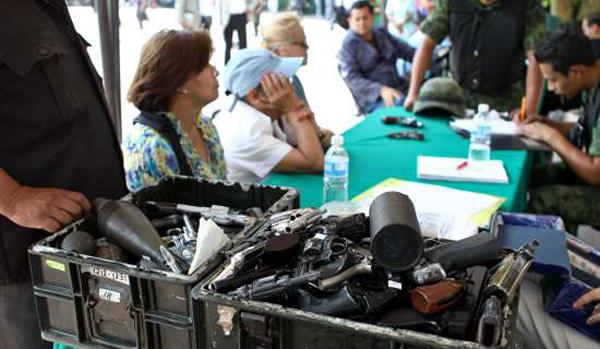 Llega a su fin Campaña de Donación de Armas de Fuego en Ahome y Mocorito