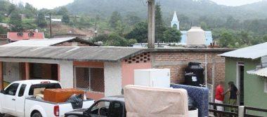 Atiende SSPE a familias desplazadas en el sur de Sinaloa