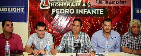 Anuncian autoridades la Fiesta del Pueblo en homenaje a Pedro Infante