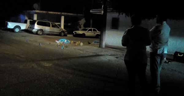 Matan a dos jóvenes en la colonia Recursos Hidráulicos