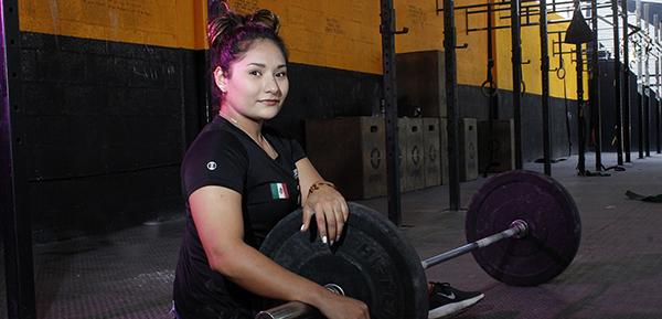 María Kassandra Aguiñaga González una joven deportista