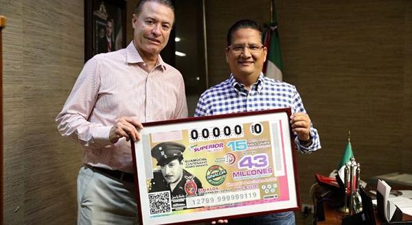 Pedro Infante, en billete de Lotería Nacional
