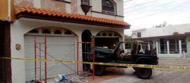 Recuperan camioneta robada en persecución