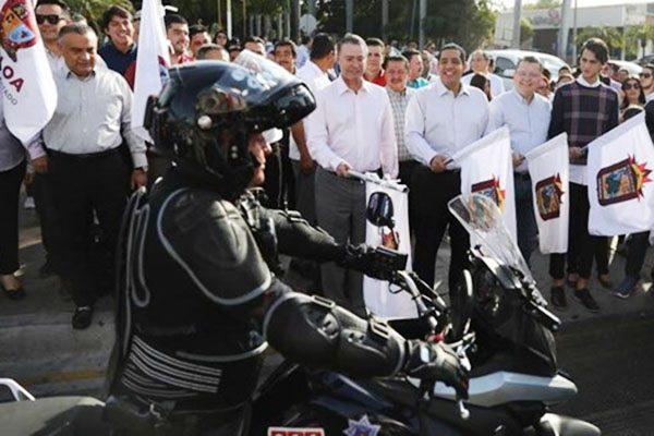 Entrega Gobernador 50 motopatrullas