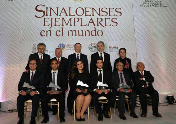 Galardonan a Sinaloenses Ejemplares en el Mundo