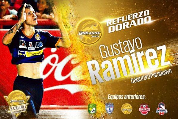 Gustavo Ramírez se pinta de Dorado