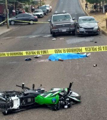 Muere un joven motociclista en un accidente