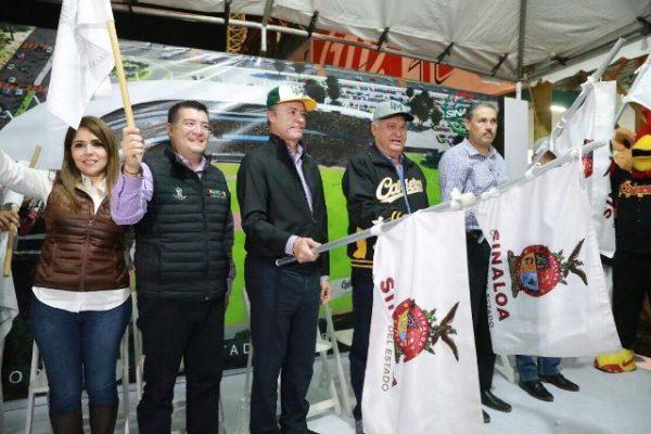 Inicia Quirino Ordaz la remodelación del estadio Emilio Ibarra Almada