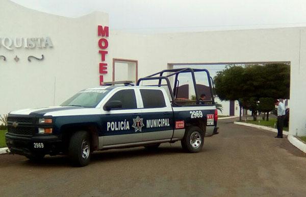 Matan a un desconocido en el motel La Conquista