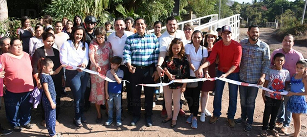 Inaugura alcalde obras en 4 sindicaturas Culiacán