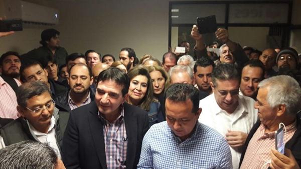 """Se registran ante el IEES la alianza """"Por Sinaloa al Frente"""""""