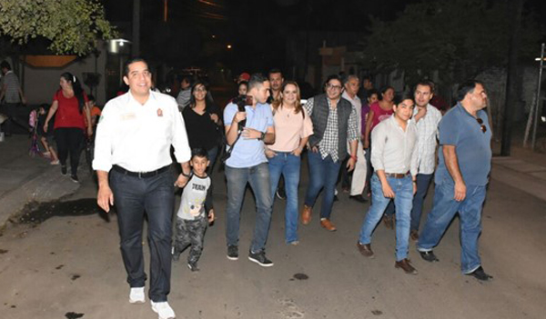 Reencarpetan 16 calles en Villas del Real