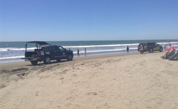 Localizan fosa en las playas del Tambor de Navolato