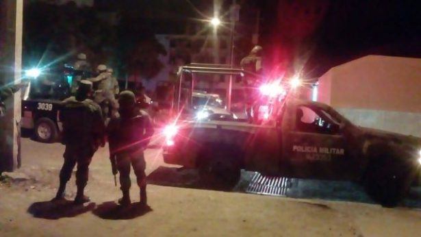 Balacera en Las Flores dejo carros dañados y una persona herida