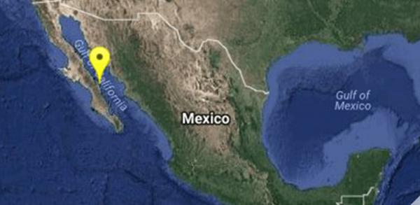 Se registra sismo de 6.3 al norte de Loreto Baja California Sur