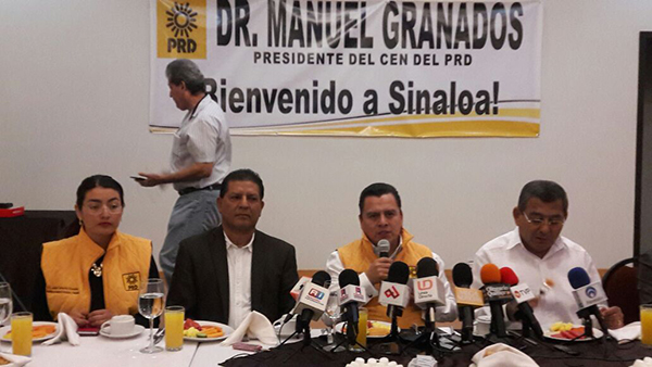 Candidatura de Anaya la única que crece: Manuel Granados