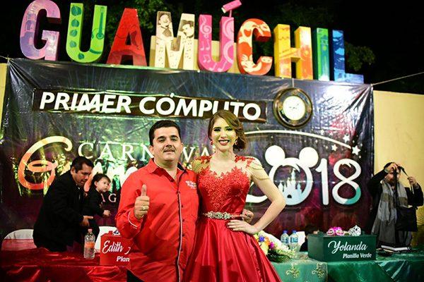 Planilla Roja gana 1er. cómputo del Carnaval Guamúchil 2018