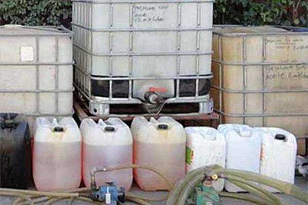 Investigan el aseguramiento de 19 mil litros de hidrocarburo