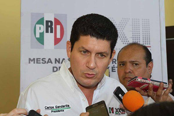 Lanza PRI guiño a Gerardo Vargas