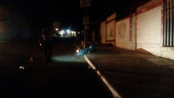 Lo Matan a balazos en la Colonia Loma Linda