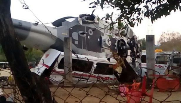 Se confirma hasta esta mañana 13 muertos y 15 heridos por accidente aéreo en Jamiltepec