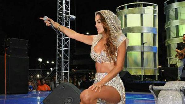 Ninel Conde brilló en el Carnaval de Veracruz