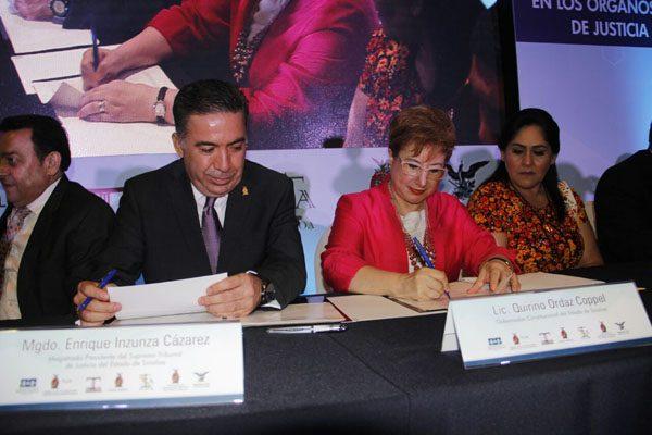 Sinaloa adoptará la perspectiva de género en los órganos de impartición de justicia