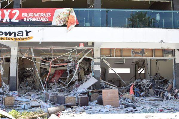 Explosión fue como un sismo de 7 grados: Protección Civil