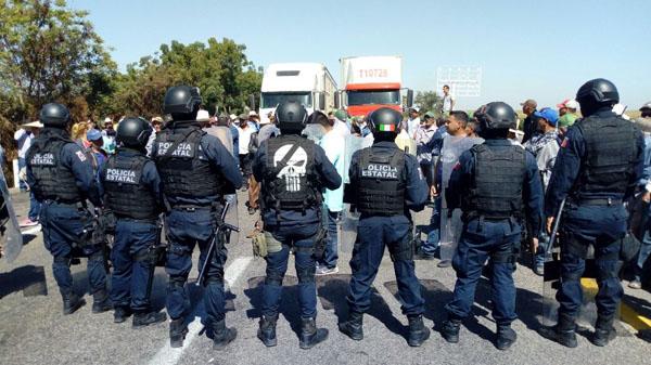 Lamentable el enfrentamiento entre productores y policías: Coordinadora