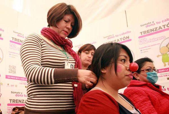 Donan cabello para pelucas oncológicas