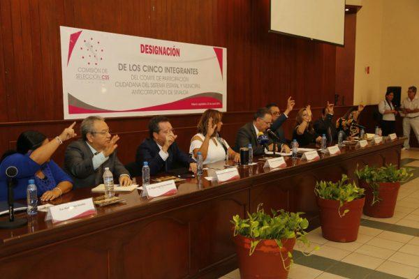 Eligen a los integrantes del Comité Ciudadano del Sistema Estatal Anticorrupción