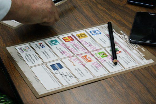 Distribuye el IEES boletas electorales