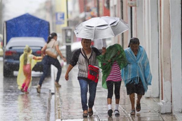 Servicio meteorológico mantienen pronóstico de aguaceros para Sinaloa