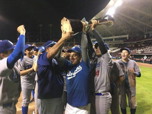 Dodgers es el campeón