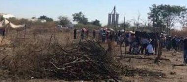 Realizan acciones para desalojar a las familias de la invasión en Bachigualato