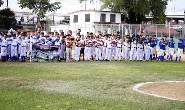 Inauguran nacionales de beisbol infantil