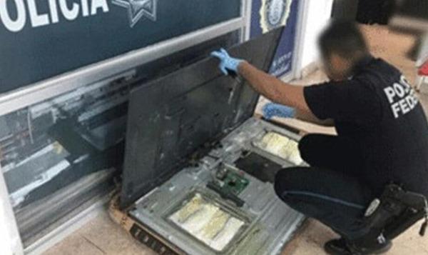 Aseguran droga en el Aeropuerto de Culiacán