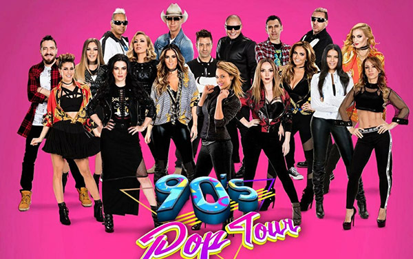 A dar el grito de Independencia con los 90´s Pop Tour