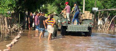 Sólo en Culiacán hay160 mil damnificados