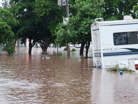 Son tres mujeres las que han desaparecido por las lluvias en Culiacán