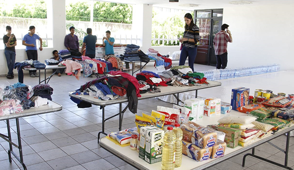 Ubica los centros de Acopio para apoyar a damnificados en Sinaloa