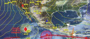En formación nuevo ciclón frente a las costas de Guerrero