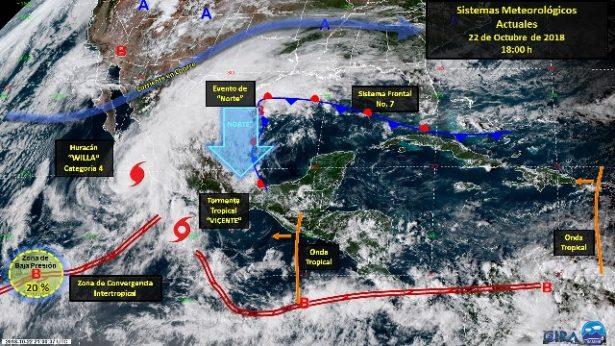 (EN  VIVO) Huracán Willa pasara por Sinaloa, entérate aquí