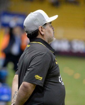 Maradona no presenció preparación de Dorados