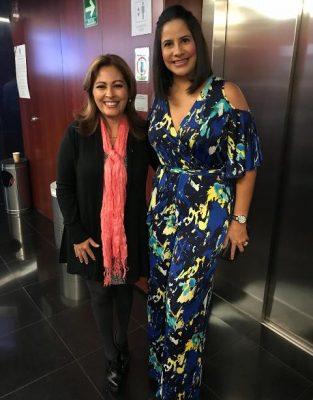 Paola Moncayo presenta proyectos