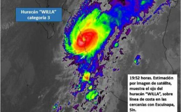 (EN VIVO) Pega huracán Willa en Sinaloa